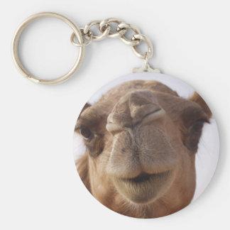 Porte - clé de chameau porte-clé rond