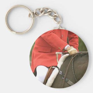 Porte - clé de chasse au renard porte-clé rond