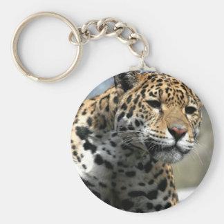 Porte - clé de chat de léopard porte-clés