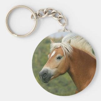 Porte - clé de cheval de Haflinger Porte-clés
