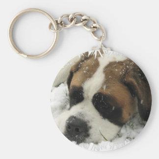 Porte - clé de chien de St Bernard Porte-clef