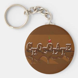 Porte - clé de chocolat porte-clé rond
