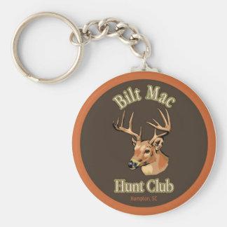Porte - clé de club de chasse à Mac de Bilt Porte-clé Rond
