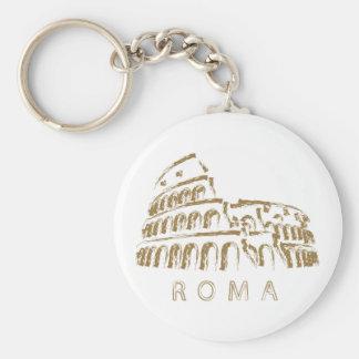 Porte - clé de Colosseum Rome Porte-clé Rond