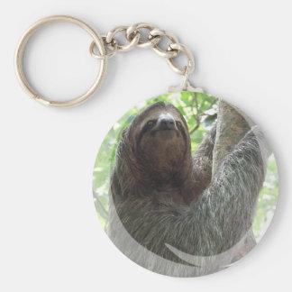 Porte - clé de conception de photo de paresse porte-clés
