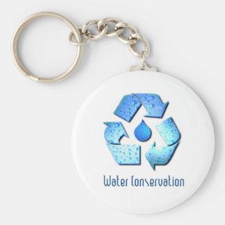 Porte - clé de conservation de l'eau porte-clé rond