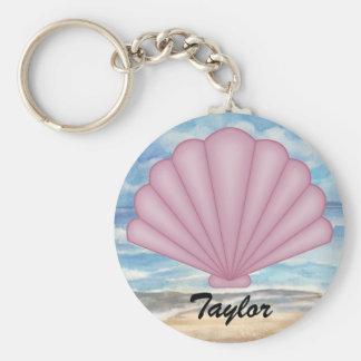 Porte - clé de coquillage porte-clés
