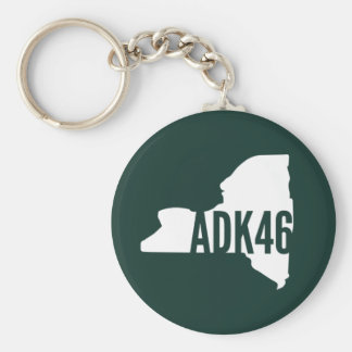 Porte - clé de crêtes élevées d'Adirondack Porte-clé Rond