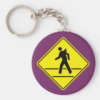 Porte - clé de croisement d'ange porte-clés