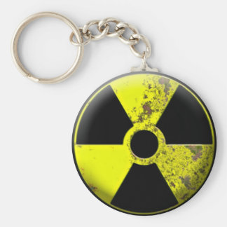 Porte - clé de déchets dangereux porte-clé rond