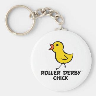Porte - clé de Derby de rouleau Porte-clé Rond