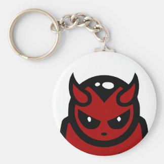 Porte - clé de diable rouge porte-clé rond