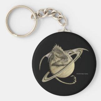 Porte - clé de dragon de Saturn Porte-clé Rond