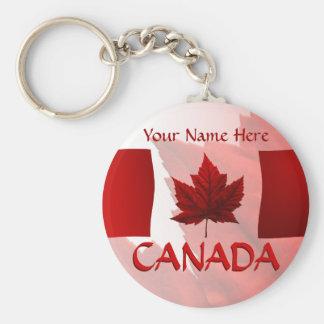 Porte - clé de drapeau du Canada de porte - clés d Porte-clefs