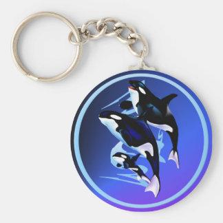Porte - clé de famille d'orque porte-clés