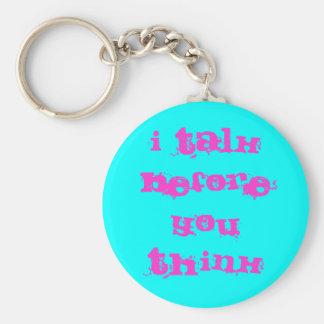 porte - clé de filles porte-clé rond