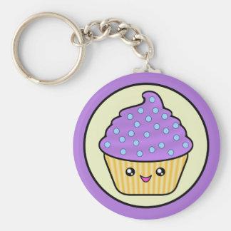 Porte - clé de gâteau de Kawaii Cuppy Porte-clés