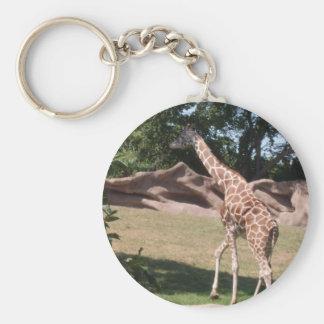 Porte - clé de girafe porte-clés