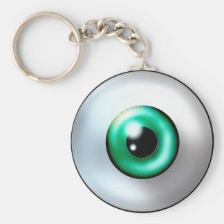 Porte - clé de globe oculaire porte-clé rond