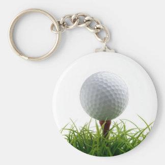 Porte - clé de golf porte-clé rond