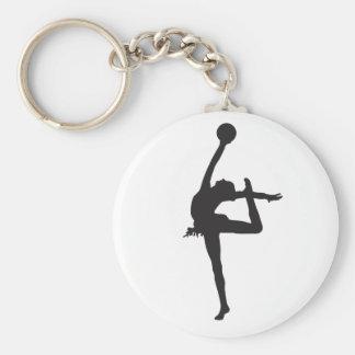Porte - clé de gymnastique rythmique porte-clé rond