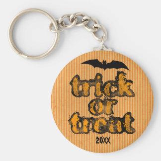 Porte - clé de Halloween personnalisé par batte Porte-clé Rond