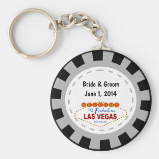 Porte - clé de jeton de poker de Las Vegas Porte-clés