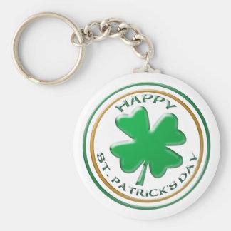 Porte - clé de Jour de la Saint Patrick Porte-clé Rond