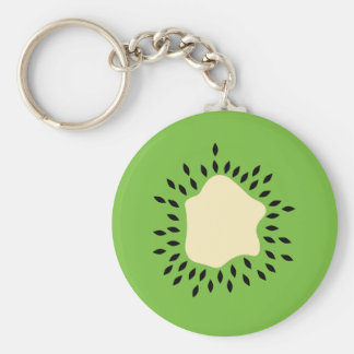 Porte - clé de kiwi porte-clé rond