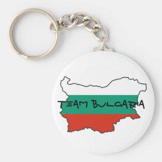 Porte - clé de la Bulgarie d'équipe Porte-clé Rond