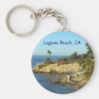 Porte - clé de Laguna Beach Porte-clé Rond