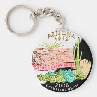 Porte - clé de l'Arizona Porte-clé Rond