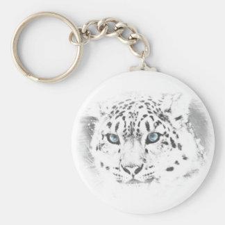 Porte - clé de léopard porte-clé rond