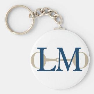 Porte - clé de logo d'écuries de formation de Lisa Porte-clés