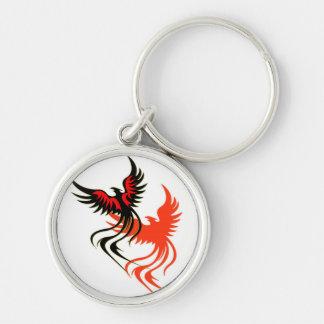 Porte - clé de l'ombre de Phoenix Porte-clé Rond Argenté