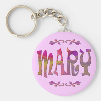 Porte - clé de Mary Porte-clé Rond