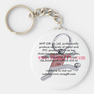 Porte - clé de Metak, porte - clé de mode, insigne Porte-clé Rond