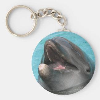 Porte - clé de nageoire porte-clé rond