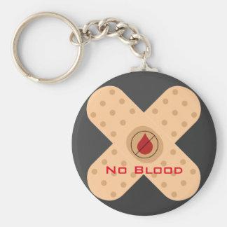 Porte - clé de NO--Sang de concepteur avec le Porte-clé Rond