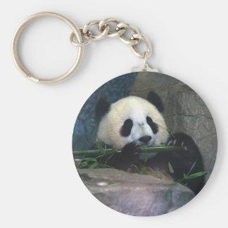 Porte - clé de panda porte-clé rond