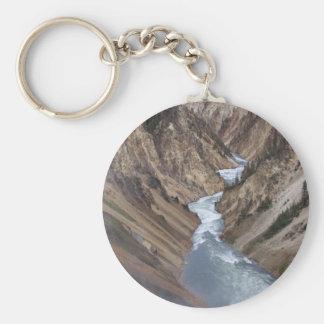 Porte - clé de parc national de Yellowstone Porte-clé Rond