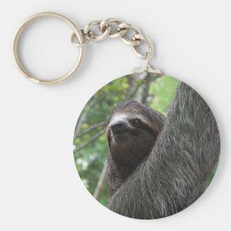 Porte - clé de paresse botté avec la pointe du porte-clé rond