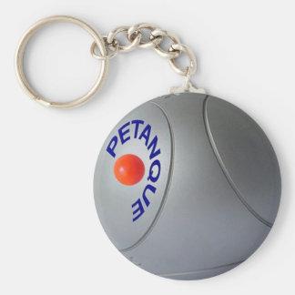Porte - clé de Petanque Porte-clé Rond