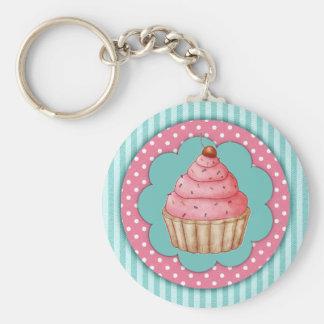 Porte - clé de petit gâteau porte-clé rond