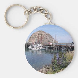 Porte - clé de photo de baie de Morro Porte-clés