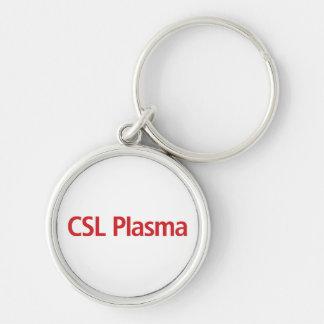 Porte - clé de plasma de CSL Porte-clé Rond Argenté