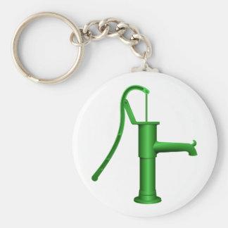 Porte - clé de pompe à eau porte-clé rond