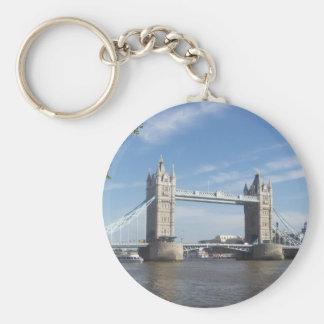 Porte - clé de pont de tour porte-clé rond