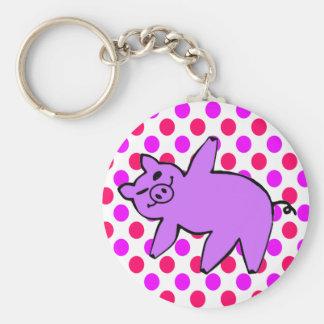 Porte - clé de porc - cadeaux drôles de yoga porte-clés