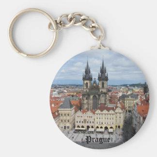 Porte - clé de Prague Porte-clé Rond